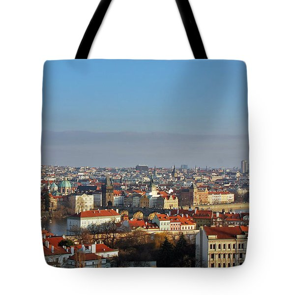 Little Mother Prague Tote Bag by Christine Till