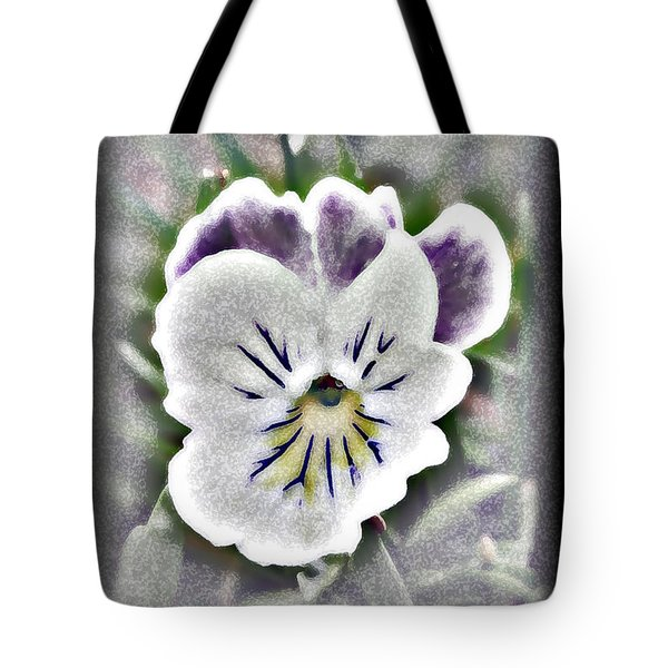 Little Pansy Tote Bag