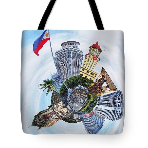 Little Planet - Manila Tote Bag by Yhun Suarez