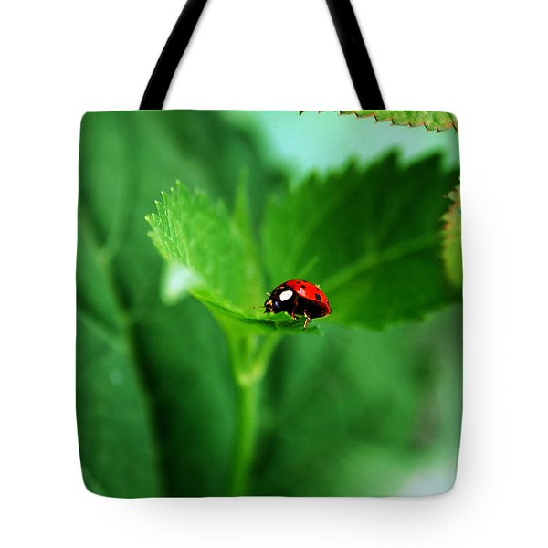 Little Red Lady Tote Bag