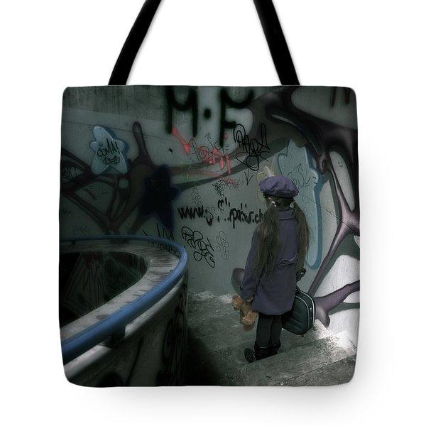 Little Runaway Tote Bag by Joana Kruse