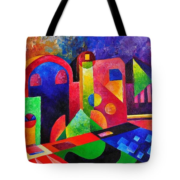 Little Village By Sandralira Tote Bag