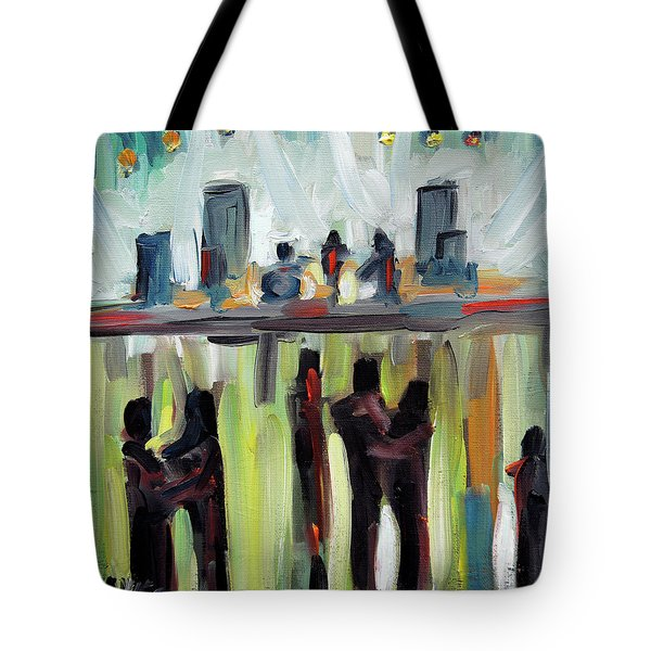 Live Show By Prankearts Tote Bag by Richard T Pranke