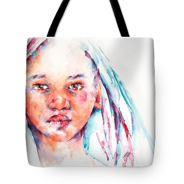 Live To Dream ... Children Of The World Tote Bag by Stephie Butler