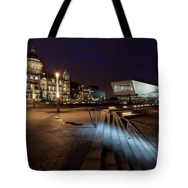 Liverpool - The Old And The New  Tote Bag