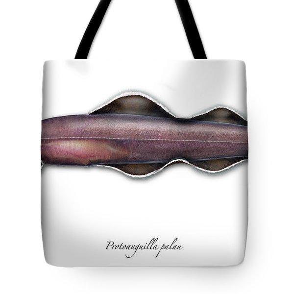Living Fossil Eel - Protoanguilla Palau - Isle Of Palau Tote Bag