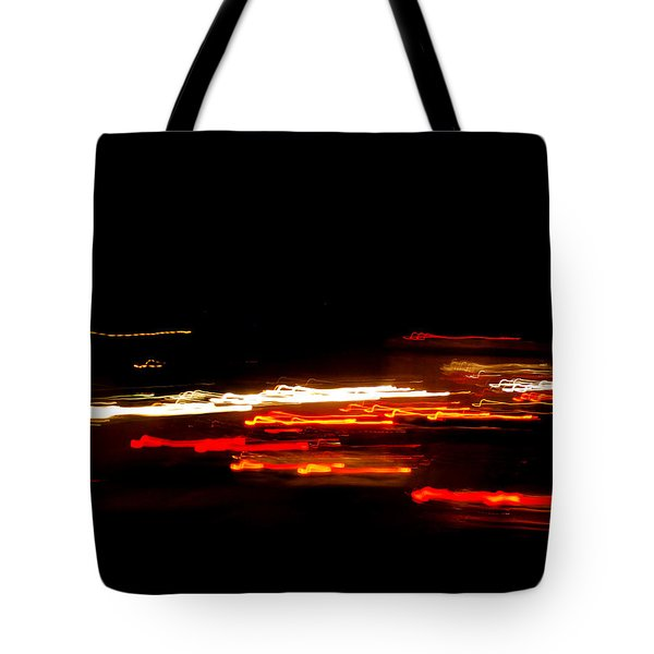 Living In Fast Forward Tote Bag