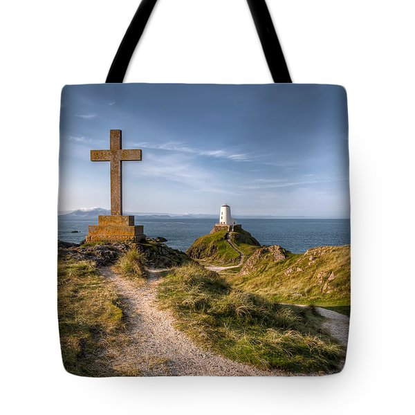 Llanddwyn Island Tote Bag by Adrian Evans