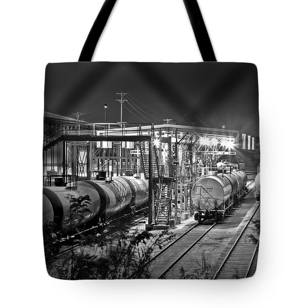 Loading Station Tote Bag