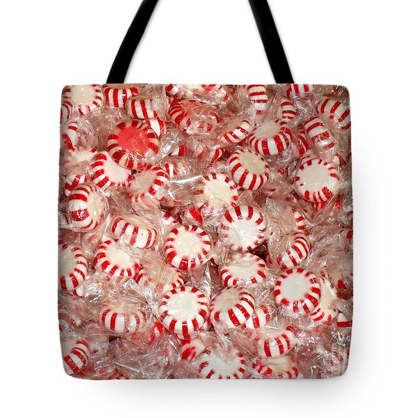 Fun  Mints Tote Bag by Beth Saffer