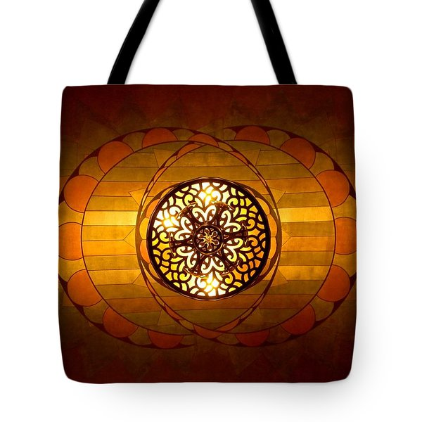 Lobby Lighting Tote Bag by Accent on Photography