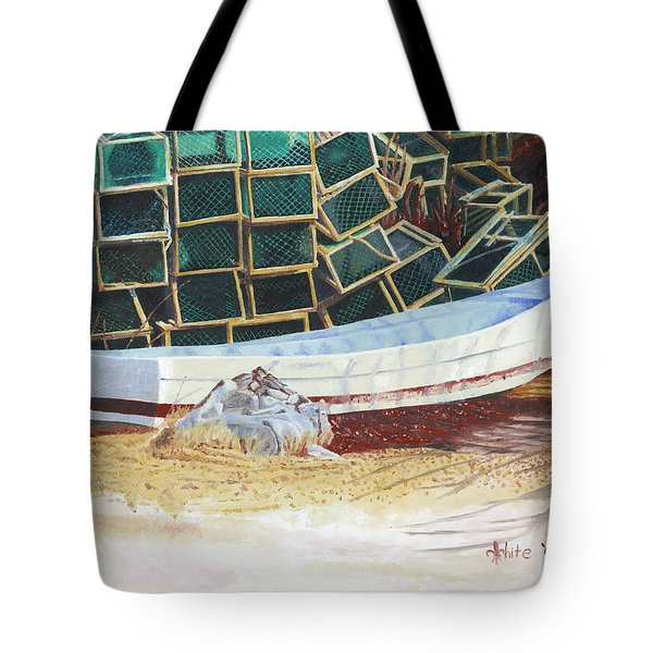 Lobster Traps And Dory Tote Bag