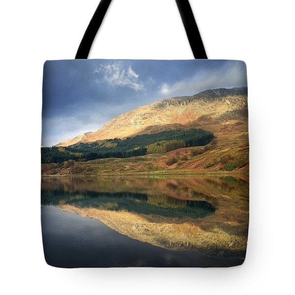 Tote Bag featuring the photograph Loch Lobhair, Scotland by John Short