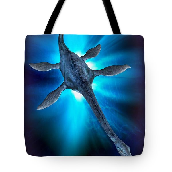 Loch Ness Monster Tote Bag by Victor Habbick Visions and Photo Researchers