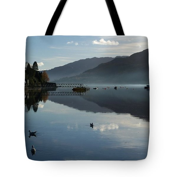 Tote Bag featuring the photograph Lochgoilhead by Lynn Bolt