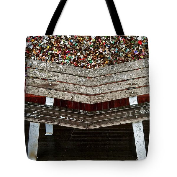 Tote Bag featuring the photograph Locks Of Love 2 by Kume Bryant