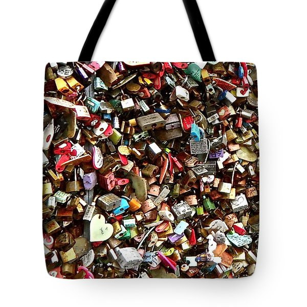 Tote Bag featuring the photograph Locks Of Love by Kume Bryant
