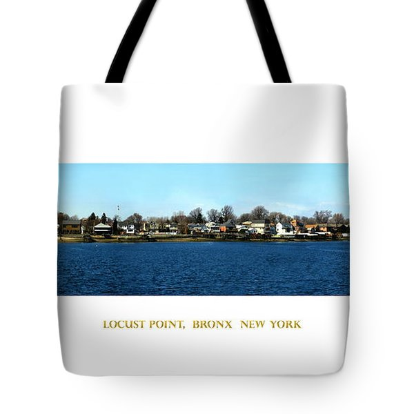 Locust Point Bronx New York Tote Bag