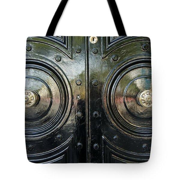 London Brass Tote Bag
