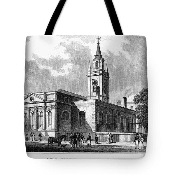 London: Church, C1830 Tote Bag by Granger