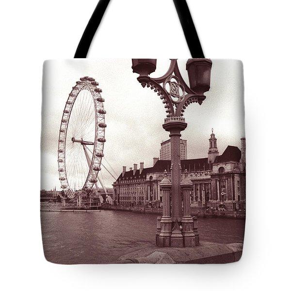 London Eye Tote Bag by Kathy Yates