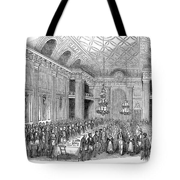 London: Freemasons Hall Tote Bag by Granger