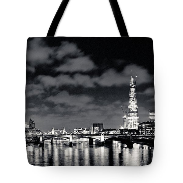 London Lights At Night Tote Bag