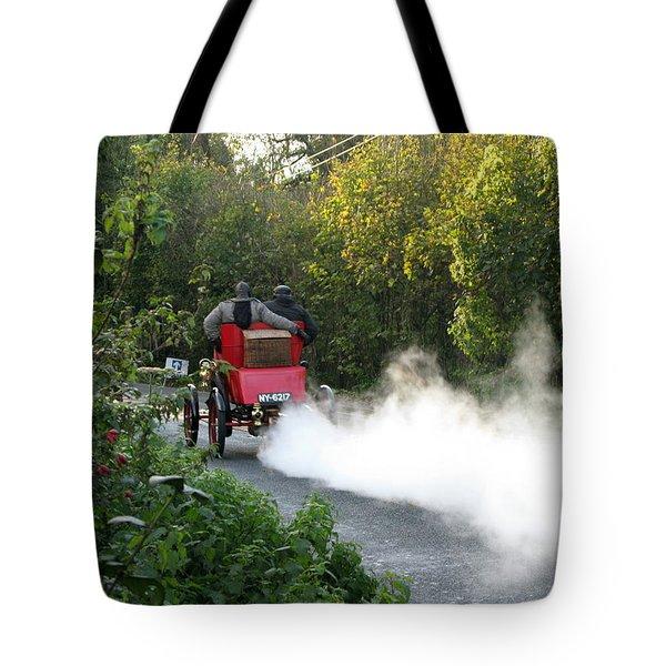 London To Brighton Tote Bag by Maria Joy