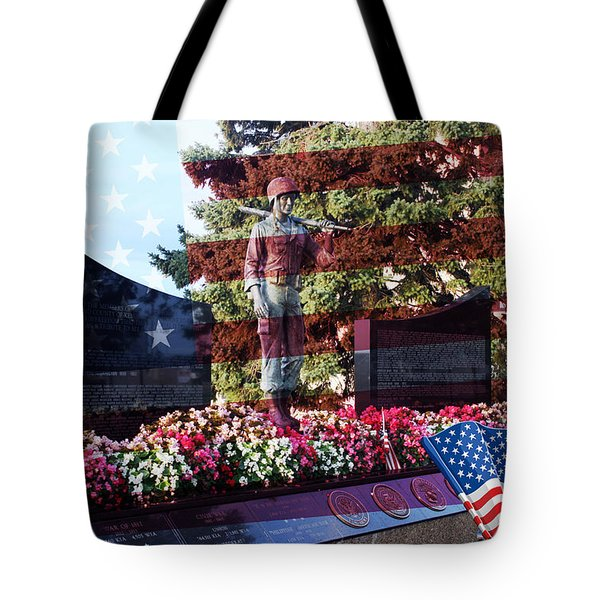 Lone Soldier Memorial Tote Bag by Kay Novy