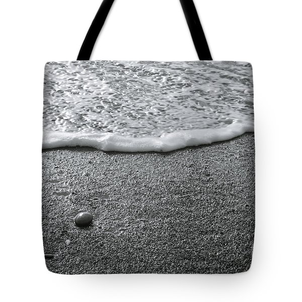 Lonely Pebble Tote Bag
