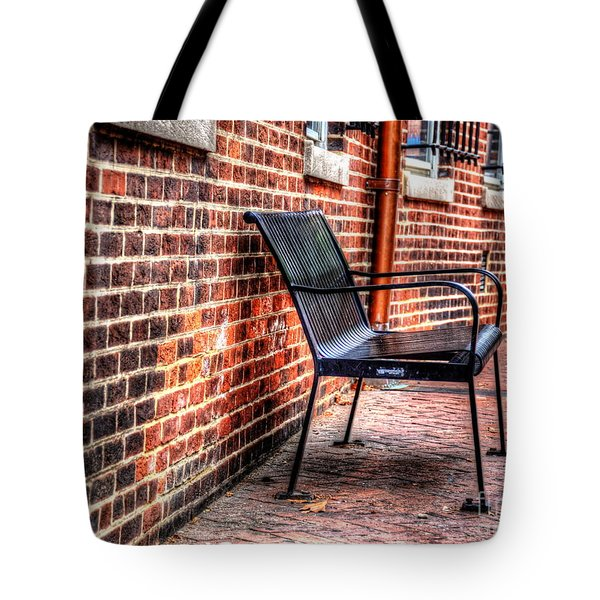 Lonely Seat Tote Bag by Debbi Granruth