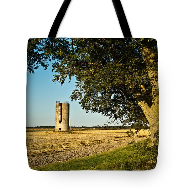 Lonely Silo 4 Tote Bag by Douglas Barnett