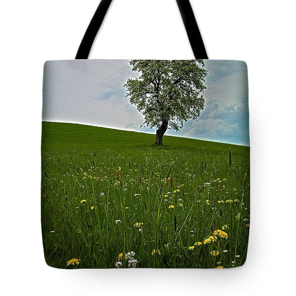 Lonely Tree ...  Tote Bag