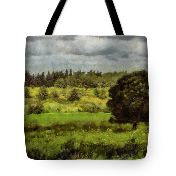 Tote Bag featuring the photograph Lonely Tree by Michael Goyberg
