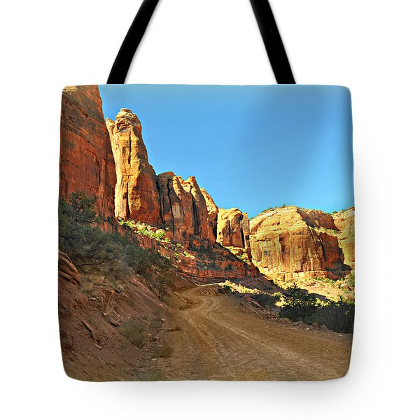 Long Canyon 1 Tote Bag by Marty Koch