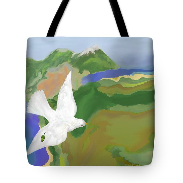 Long Journey Home Tote Bag by Mathilde Vhargon