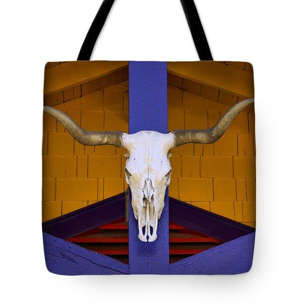 Longhorn Tote Bag by Carol Leigh