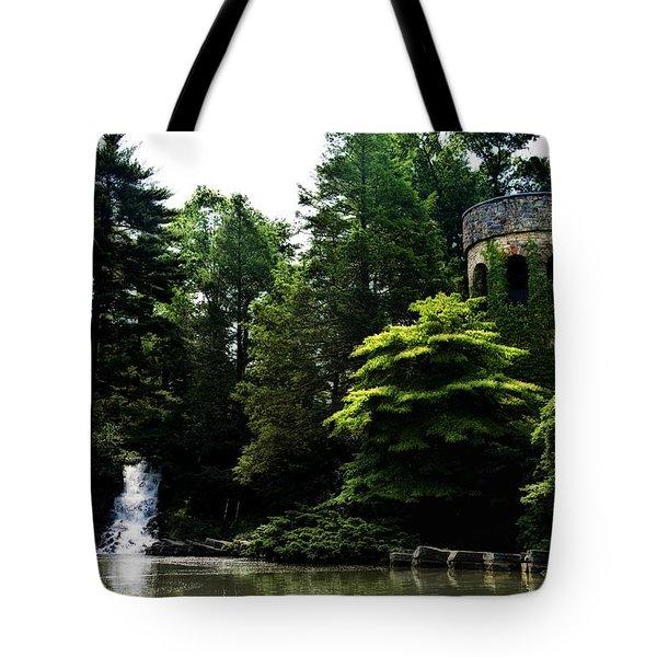 Longwood Garden Castle Tote Bag