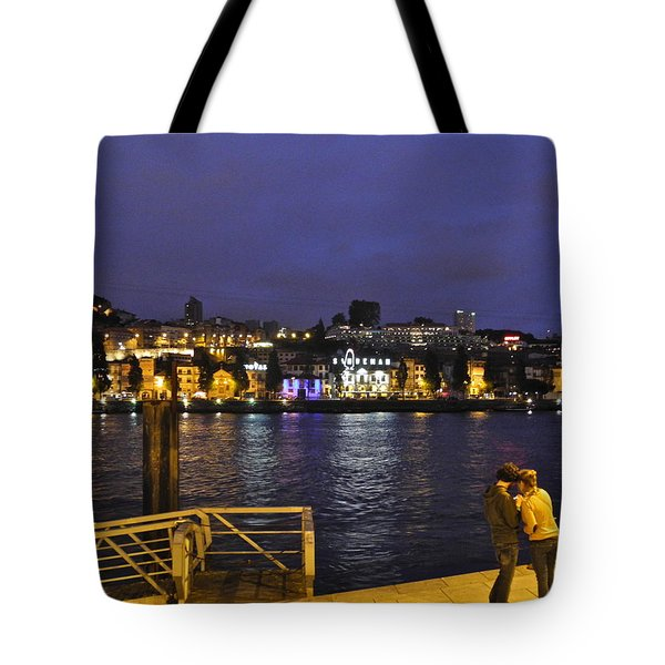 Tote Bag featuring the photograph Looking At Something Interesting by Kirsten Giving