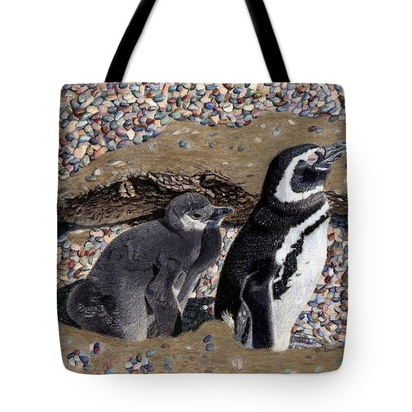 Looking Out For You - Penguins Tote Bag