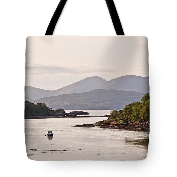 Looking To The Isle Of Mull Tote Bag