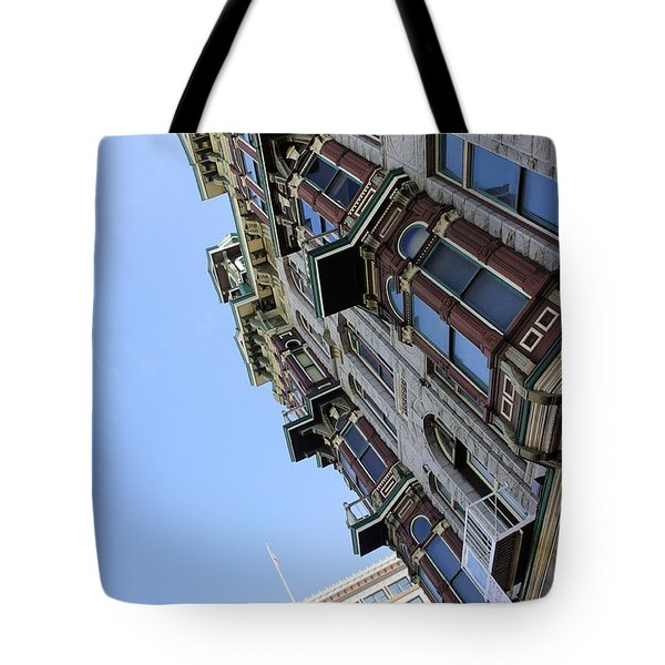 Looking Up From The Gaslamp Tote Bag by John  Greaves