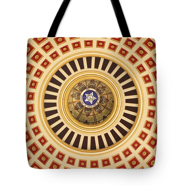 Looking Up Tote Bag by Ricky Barnard