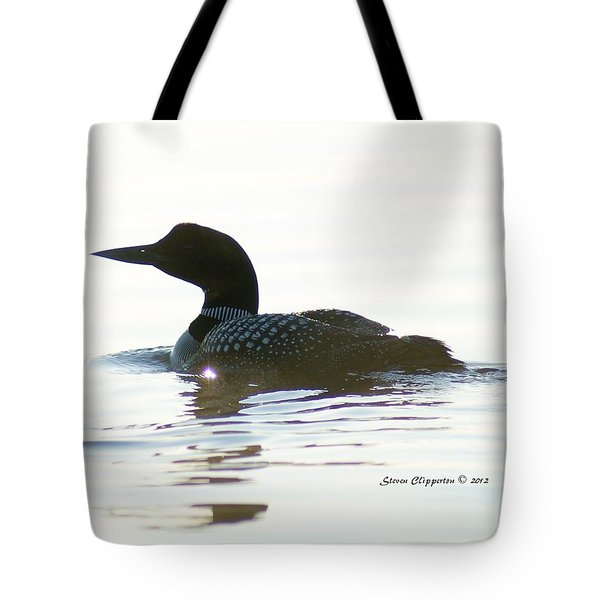 Loon 3 Tote Bag by Steven Clipperton