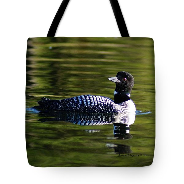 Loon 4 Tote Bag by Steven Clipperton