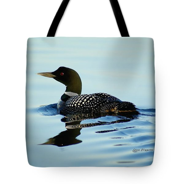 Loon Tote Bag by Steven Clipperton