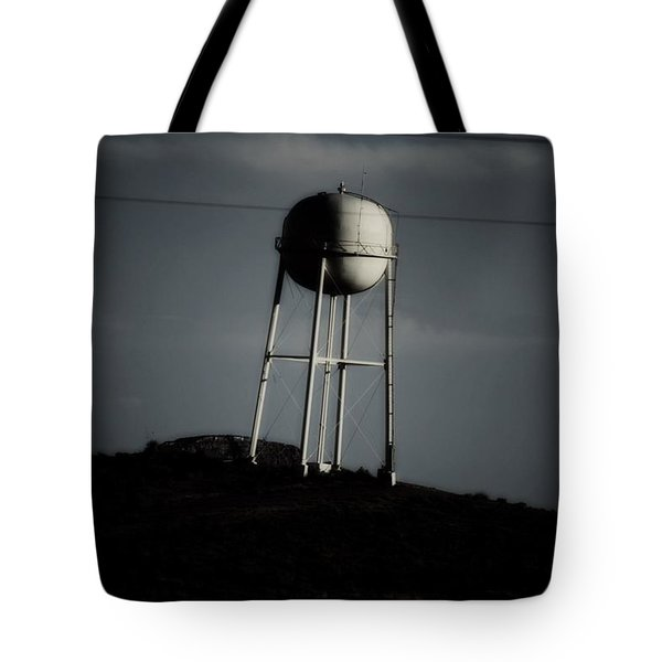 Tote Bag featuring the photograph Lopsided Tower by Jessica Shelton