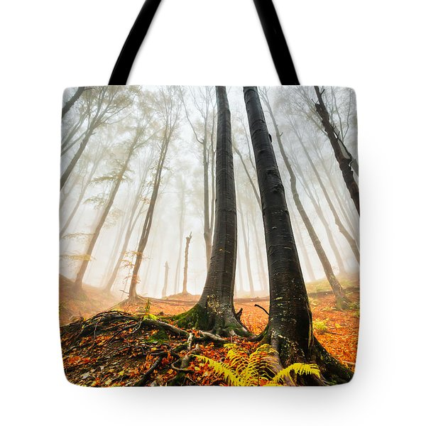 Lords Of The Forest Tote Bag by Evgeni Dinev