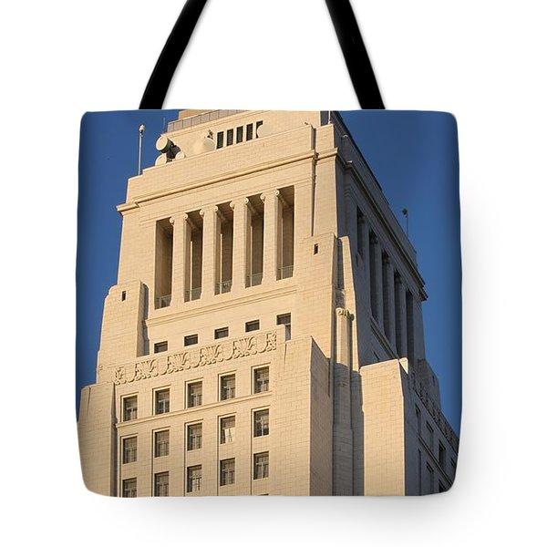 Los Angeles City Hall Tote Bag