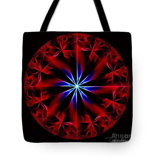 Lost Flames Tote Bag